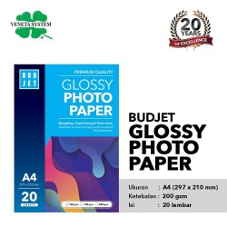 Kertas Foto Photo Glossy - Budjet Glossy Photo Paper A4 200 GSM