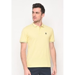 Skelly Original Polo Shirt Pria Guardian Classic Polo W1 Yellow