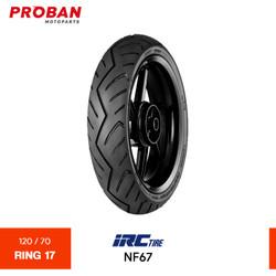 Ban Motor IRC TL NF67 120/70 Ring 17 Tubeless
