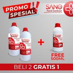 PROMO SPESIAL-Sano Hand Sanitizer 1 Liter BELI 2 GRATIS 1 REFILL 500ML