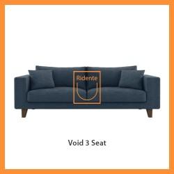 Ridente | Sofa Minimalis Custom 3 Seater Tipe Void