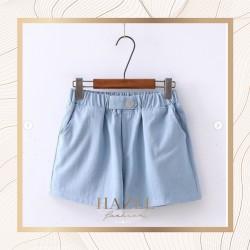 Celana Pendek Trend Hot Pants Sport Wanita Simple Minimalis Fashion