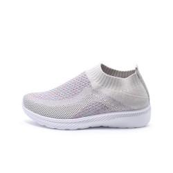 Jane Vanda Sepatu Slip On Wanita Brivi Abu AN7004-551