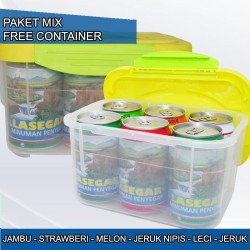 LASEGAR 320ml MIX 6'S FREE CONTAINER