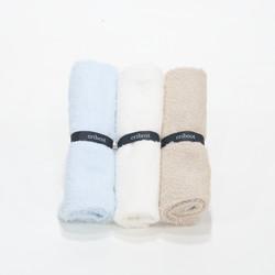 wash cloth (waslap bayi) - Assorted Blue White M Choco