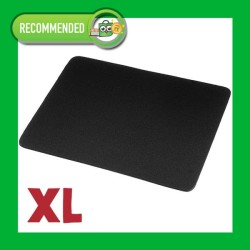 Mousepad Basic Standard BESAR XL Black Mouse pad hitam anti slip