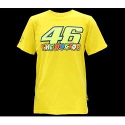 T-shirt VR46 Yellow 02 KIDS