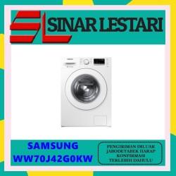 Samsung WW70J42G0KW/SE Mesin Cuci Front Loading kap 7 kg / WW70J42G0KW