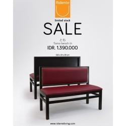 TOMO BENCH 01 | Ridente Living | Bench Sale | Sofa Sale