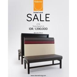 TOMO Bench 02 | Ridente Living | Bench Sale | Sofa Sale