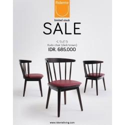 KUDO DINING CHAIR (DarkBrown) | Ridente Living | Chair Sale
