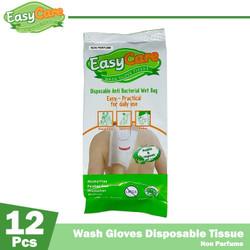 EasyCare Wash Gloves 12 Sheets Non Parfume