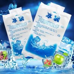 Ice Gel Pack 200 ML Blue Cool Jelly Cooler Kantong Air Es Pendingin