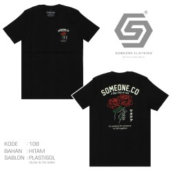 Kaos Someone Story Of Love 108D Glow In The Dark
