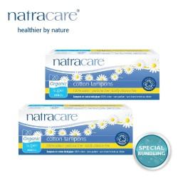 Natracare Digital Tampons Super 20s (2 pack)