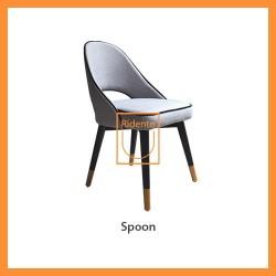 Ridente | Kursi Makan Spoon