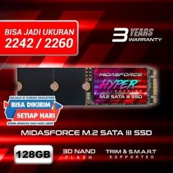 SSD M2 SATA M.2 SATA III 2280 128 GB MIDAS FORCE HYPER LIGHTNING