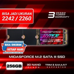 SSD M2 SATA M.2 SATA III 2280 256 GB MIDAS FORCE HYPER LIGHTNING