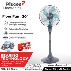 """Kipas Angin Stan Fan 16"""" dengan Bearing 1680 PRO"""