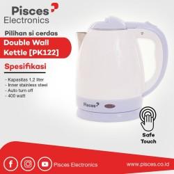 Pisces Kettle 1.2 Liter Double Wall Inner Stainless