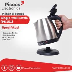Pisces Kettle 1.5 Liter Stainless - PK151