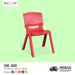 Kursi Plastik Anak warna warni/ Olymplast/ OK 305