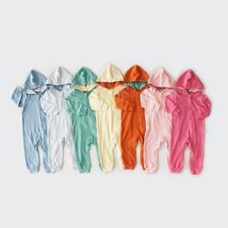 Jumper Panjang Bayi / I Am Cotton Romper Hoodie Zipper