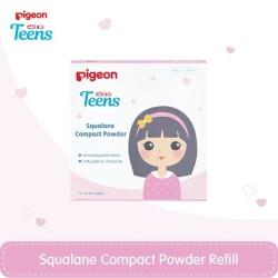 PIGEON Refill Compact Powder Squalane White 14Gr / Bedak Remaja