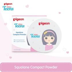 PIGEON Compact Powder Squalane Yellow 14Gr / Bedak Remaja