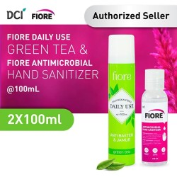 Fiore Green Tea 100 ML + Fiore Hand Sanitizer 100 ML