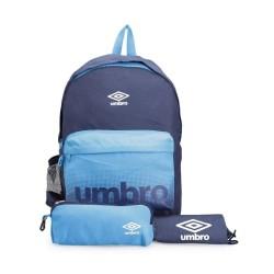 Tas Umbro BTS Backpack / Gymsack / Pencil Case Set - Blue