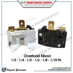 Overload Kulkas Gepeng Klixon 1/3 1/4 1/5 1/6 1/8 1/10 HP