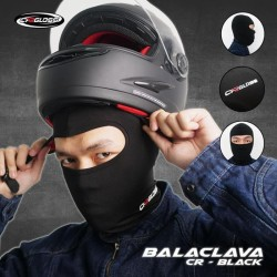 Balaclava Cargloss Masker Berkendara Hitam - All