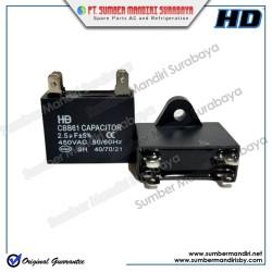 Capacitor Fan Kotak 2,5 uf 450 VAC HD / Kapasitor Kondensator bukan MC