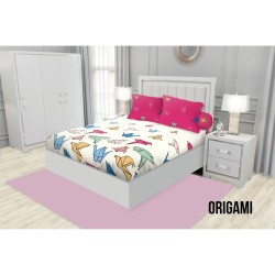 SPREI KING FITTED CALIFORNIA 180X200 ORIGAMI