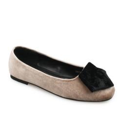 Symbolize Donita Flats Shoes - Coklat