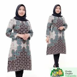 Tunik Batik Fashion Wanita Motif Pola