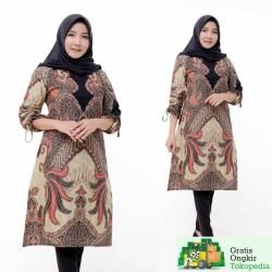 Tunik Batik Fashion Wanita Terbaru 2020