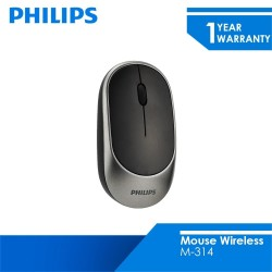 Philips Mouse Wireless 2.4 GHZ M-314 Grey