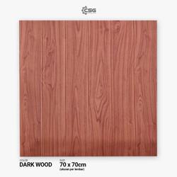 [GRATIS ONGKIR] Wallpaper 3D TITAN 6mm 70X70 -Motif KAYU-