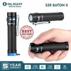 OLIGHT S2R Baton II Flashlight Senter LED