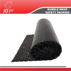 BUBBLE WRAP HITAM -SAFETY PACKING