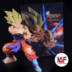 Action figure Dragon Ball Z legends injured Son Goku kamehameha 11th