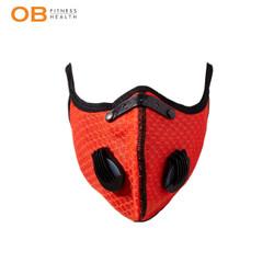OB FIT Masker sport untuk olahraga dual valve filter compatible KN95