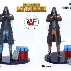 Action figure statue PUBG Player Unknown Battlegrounds edisi loot drop