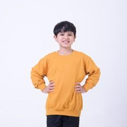 Hoodieku Kids Sweater Earth Collectible Honey Gold Laki-Laki