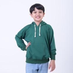 Hoodieku Kids Jumper Forest Green Laki-laki