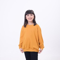 Hoodieku Kids Sweater Earth Collectible Honey Gold Perempuan