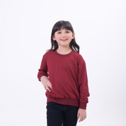 Hoodieku Kids Sweater Earth Collectible Apple Red Perempuan