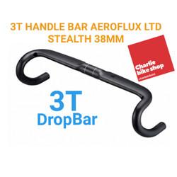 Dropbar Carbon 3T AEROFLUX LTD Stealth 380 mm 38cm